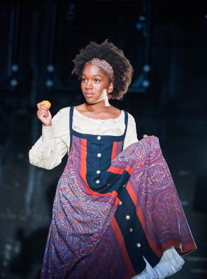 West Midlands Theatre Actress Cherrelle Skeete as Katya in Three Days In The Country